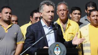 """Vaca Muerta es """"la revolución para el futuro de la energía"""", dijo Macri"""