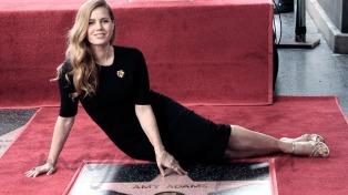 Amy Adams tiene su estrella en el Paseo de la Fama