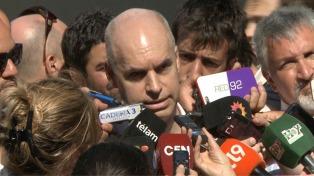 """Avanza el censo de manteros y Larreta asegura que se resuelve """"un problema histórico"""""""