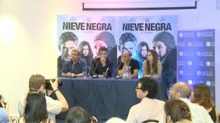 """Presentaron """"Nieva negra"""", la película protagonizada por Sbaraglia y Darín"""
