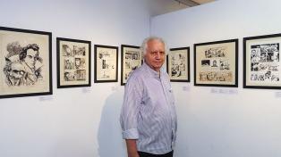 """Hugo Maradei: """"La historieta fue una introducción para las artes mayores"""""""