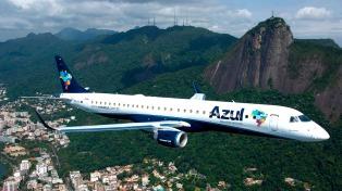 La aerolínea brasileña Azul inaugura su vuelo diario Buenos Aires-Belo Horizonte