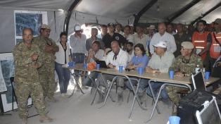 Defensa envió refuerzos en las zonas afectadas por el alud en Jujuy