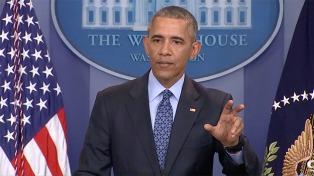 Obama dice que sin paz, Israel no podrá seguir siendo judía y democrática