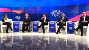 Dujovne participó en Davos del panel sobre la agenda del G20