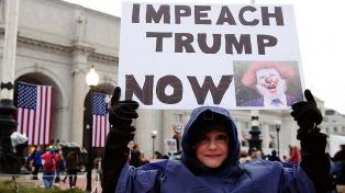 Con tensión en la calle, todo está listo para la asunción de Trump