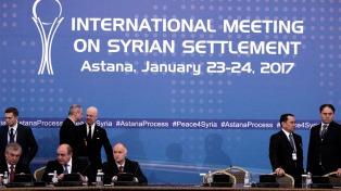 Empezaron las conversaciones para el cese de fuego en Siria