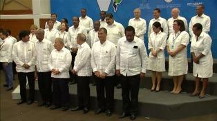 La Celac concluyó su cumbre con apoyo a Venezuela y contra EEUU