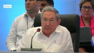 Raúl Castro mostró su preocupación por Trump durante la Cumbre de la Celac
