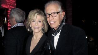 Richard Perry confirmó su separación de Jane Fonda
