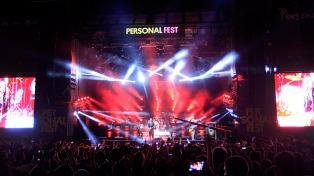 Se suspendió el primer día del Personal Fest por inclemencias climáticas