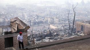 El desafío de reconstruir Santa Olga, arrasada por los incendios