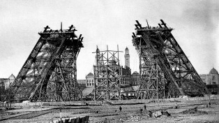 Hace 130 años Eiffel inició la obra del monumento más popular del mundo