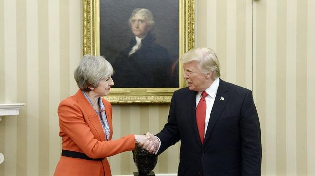 Diputados británicos rechazan que Trump se dirija al Parlamento en su visita