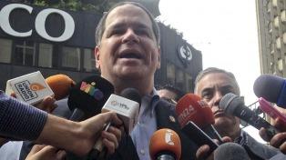 """La oposición no irá al diálogo con el chavismo mientras no haya """"garantías electorales"""""""