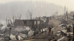 Persisten 40 focos de incendios forestales, con más de 600 mil hectáreas afectadas