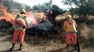 Los operativos contra incendios pasan a la órbita del Ministerio de Seguridad