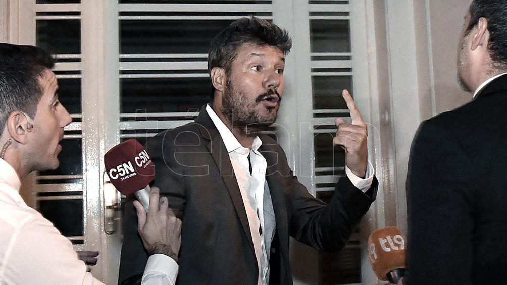 Tinelli analiza presentarse como candidato a presidente de San Lorenzo