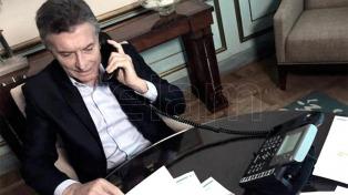 Macri dialogó con Trump sobre el comercio entre Argentina y EEUU, y de la situación en Venezuela