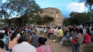 Esperan más de 30.000 turistas para los festejos en honor a la Virgen de Lourdes