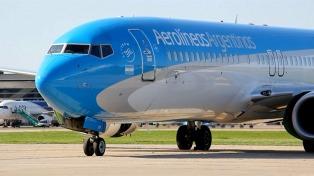 Aerolíneas Argentinas aumentó un 4,4% la cantidad de pasajeros durante febrero