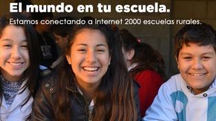 Comenzó el plan para conectar a internet a las escuelas del norte argentino