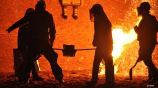La producción siderúrgica creció en marzo un 23,5% interanual