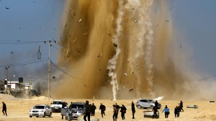 Israel lanzó ataques aéreos contra objetivos en la Franja de Gaza