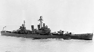 Homenajearon a las víctimas del Crucero General Belgrano