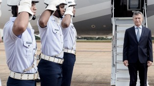 """""""El futuro pasa por una mayor integración"""", afirmó Macri antes de llegar a Brasil"""
