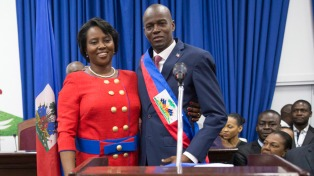 Jovenel Moise juró como nuevo presidente tras un año de gobierno provisional
