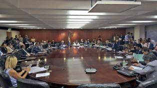 Con la renuncia de Cubría, arrancó el primer plenario del año de la Magistratura