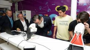 """Inauguraron el Centro de Innovación """"Infinito por descubrir"""""""
