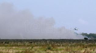 Controlaron el incendio en la Reserva Natural de Punta Lara