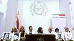 Entregaron a las familias los restos de dos desaparecidos hallados en Paraguay
