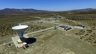 La estación espacial china de Neuquén ya está lista para recibir señales desde la Luna