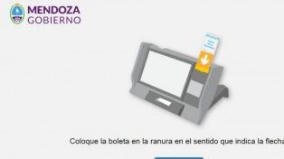 El municipio mendocino de Santa Rosa elige intendente con boleta electrónica
