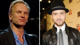 Sting y Justin Timberlake actuarán en la gala de los Oscar