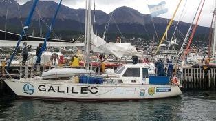 Regresó el velero que homenajeó al Crucero General Belgrano