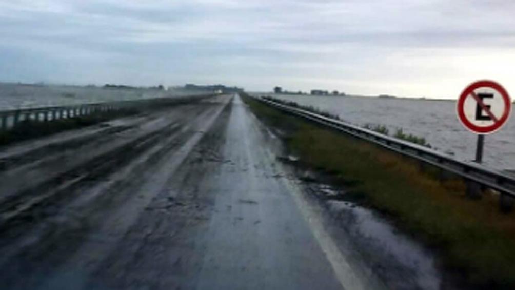 Habilitan un tramo de la ruta 7 interrumpida hace dos años por inundaciones