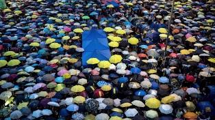 Condenan a los líderes de la Revolución de los Paraguas
