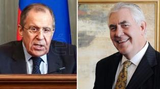 El secretario de Estado exhortó a Rusia sobre el conflicto de Ucrania