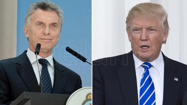 Donald Trump hablará con Mauricio Macri por teléfono este miércoles