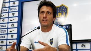 """Barros Schelotto: """"El vestuario de Boca es bueno y los jugadores están unidos"""""""