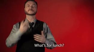 Publicaron más de 2.000 GIFs para aprender lenguaje de señas