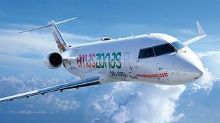 Autorizan frecuencias y cinco nuevas rutas a la aerolínea Amaszonas Uruguay