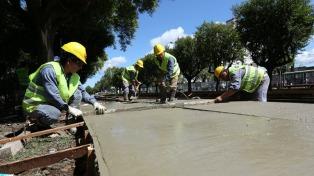 Las inversiones en obra pública registran un incremento de 74%