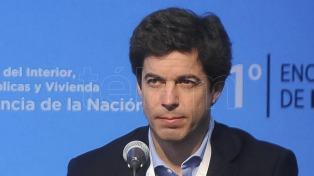 """Bereciartúa afirmó que el aumento del agua """"será el último"""""""