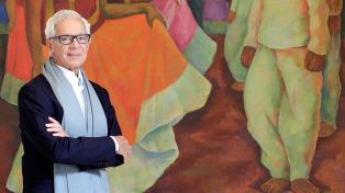 """El empresario y coleccionista Eduardo Constantini recibió el premio """"A"""" de la Fundación Arco"""