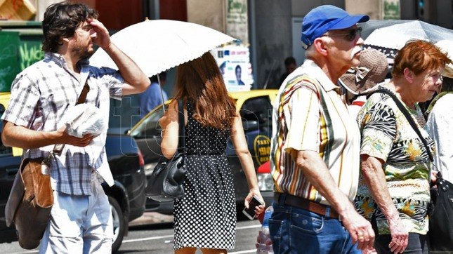 calor buenos aires argentina